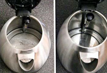 чистый и грязный чайники