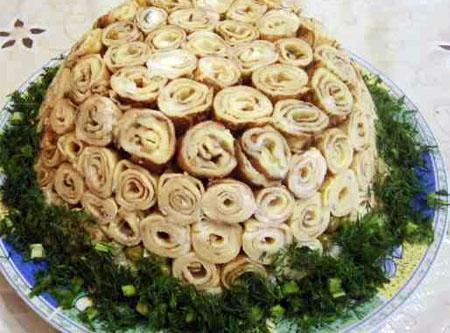 """Салат """"Розы для любимого"""""""