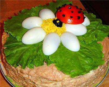торт из печени говяжьей пошаговый рецепт с фото