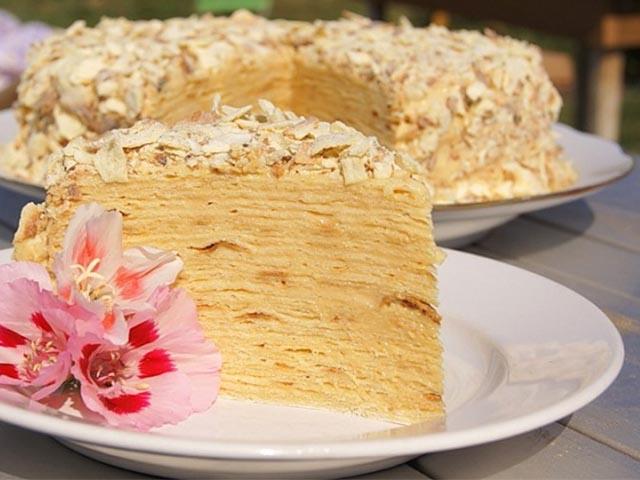 Торт наполеон из лаваша пошаговый