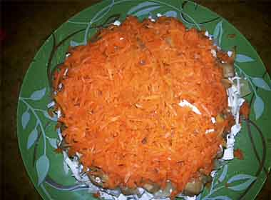 Салат с грибами и ананасом курицей рецепт с пошагово