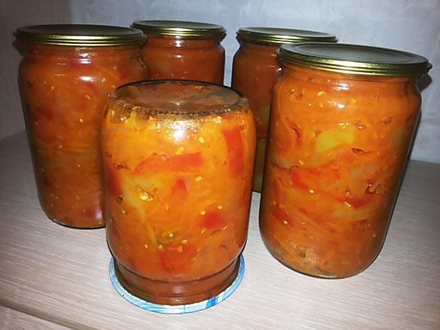 Заготовки на зиму из болгарского перцаы с фото