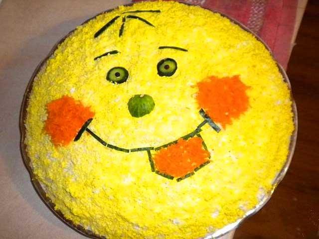 Рецепты салатов на день рождения у ребенка