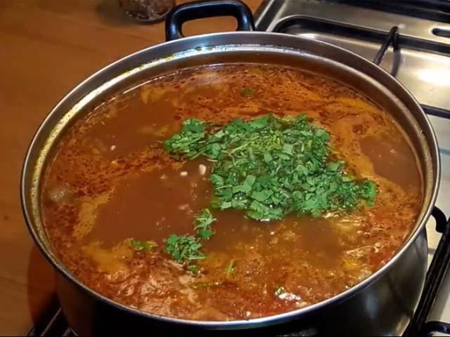 рецепт супа харчо из говядины с рисом пошаговый рецепт с фото