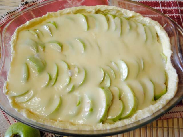 Пирог яблочный классический рецепт с