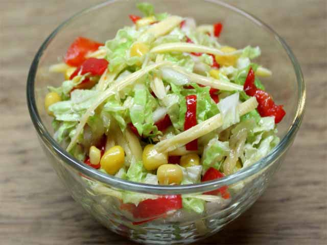 Салат из свежей капусты с свеклой рецепт с очень вкусный с