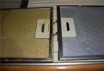 чистые и грязные фильтры
