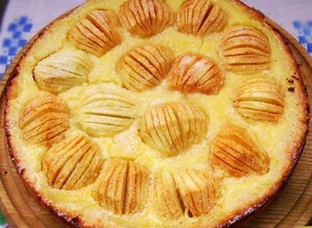 Яблочный эльзасский пирог — вкусный и простой рецепт