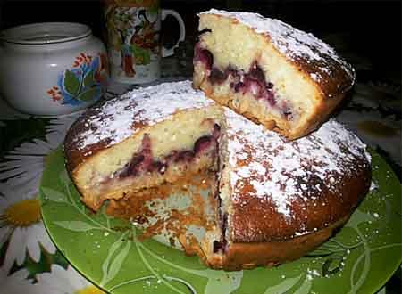 Манник рецепт с фото пошагово в духовке