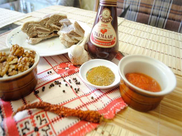 рецепт грузинского соуса ткемали