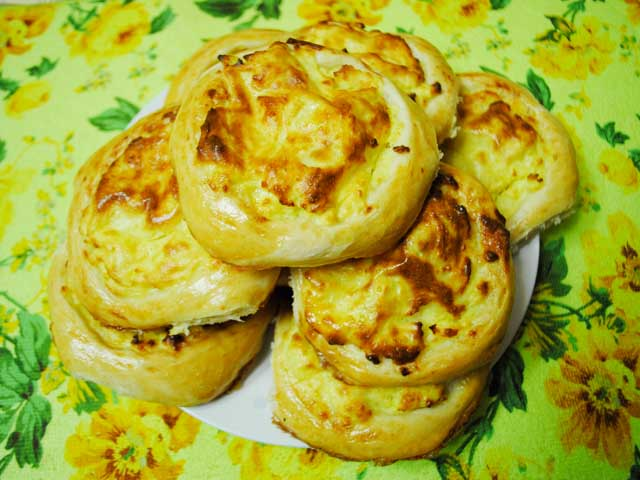 Шаньги с картофельным пюре - рецепт пошаговый с фото