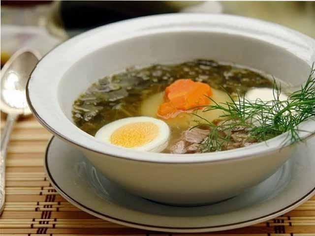суп с щавеля с яйцом рецепт с фото классический в мультиварке