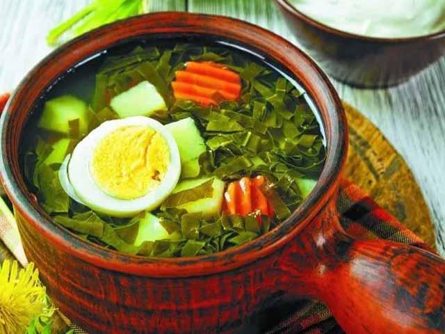 как приготовить суп из молодого щавеля