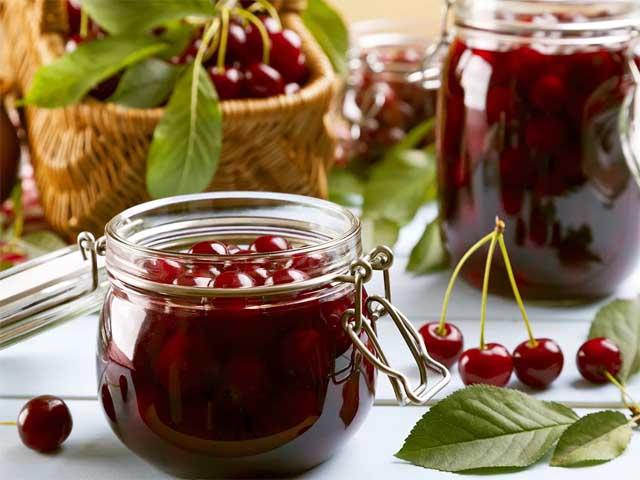 рецепт густого вишневого варенья без косточек