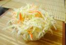 Квашеная капуста быстрого приготовления хрустящая и сочная — вкусный рецепт