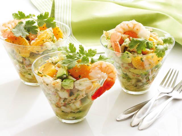 Очень вкусный салаты с креветками рецепты простые и вкусные 5