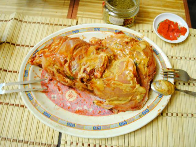 Рецепт запекания свинины в духовке куском