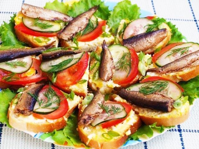 Бутерброд с карбонатом