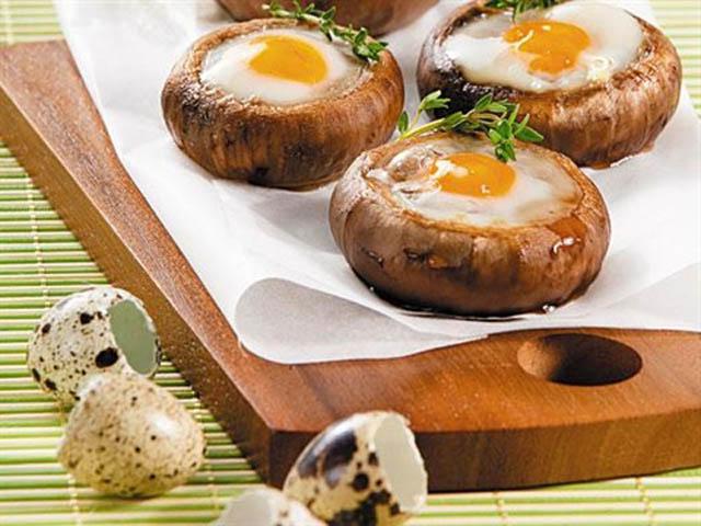 Фаршированные шампиньоны в духовке — 10 простых рецептов