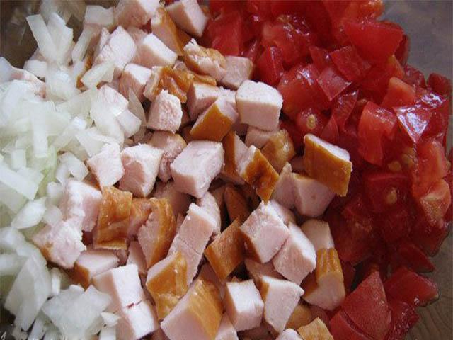 крошим салат