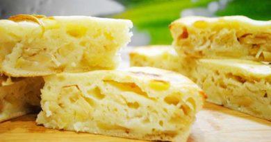 Пышная шарлотка с яблоками на кефире — вкусные рецепты приготовления в духовке