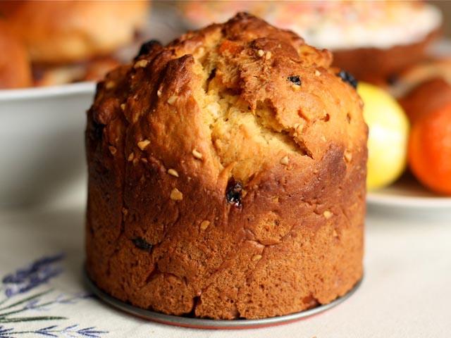 Пасхальный кулич — классический рецепт приготовления на опаре с изюмом