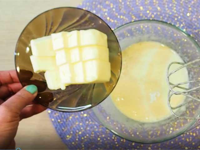 Корзиночки из песочного теста с белковым кремом -пошаговый рецепт с фото