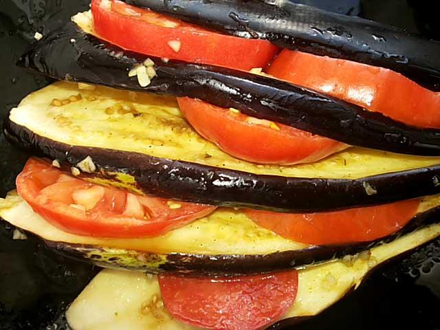 Баклажаны под сыром в духовке, рецепт с фото