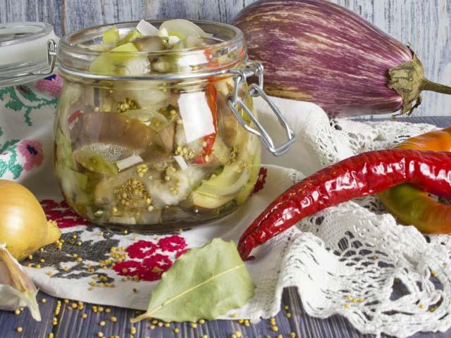 Баклажаны на зиму — 8 лучших рецептов заготовок