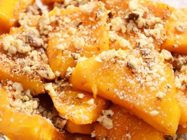 Как приготовить тыкву запеченную с курице и гречкой - Горячие блюда от ЕДА