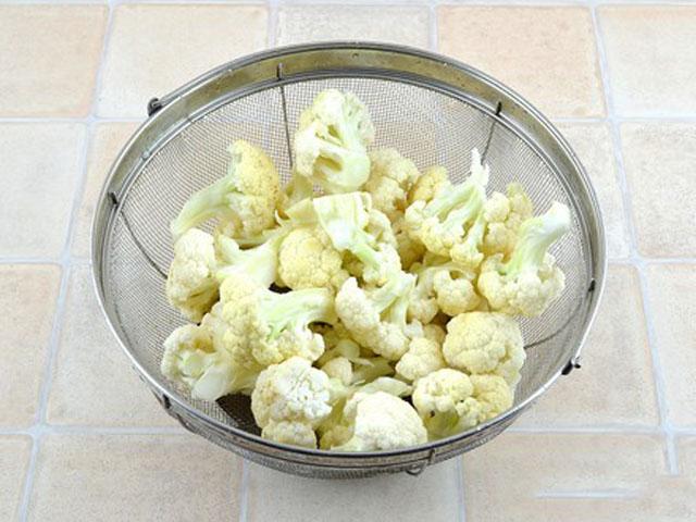 Сколько варить свежую цветную капусту после закипания