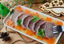 Заливное из говяжьего и свиного языка: как приготовить и как украсить