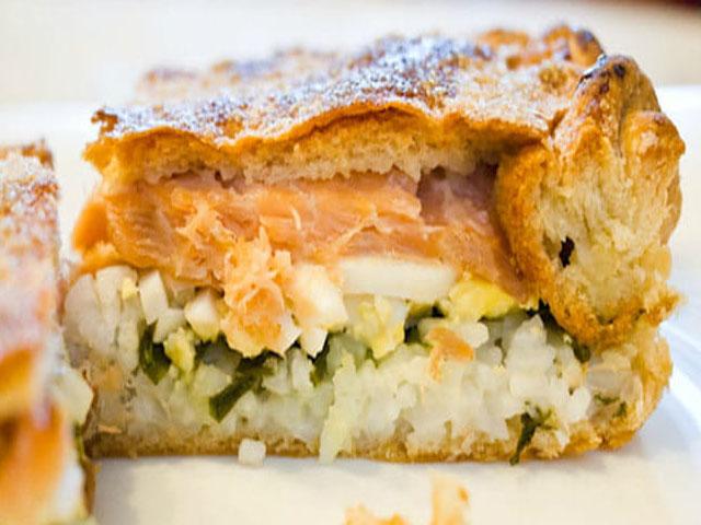 Как делать рыбный пирог