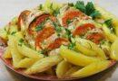 Курица с картошкой, запеченная в рукаве в духовке — самый вкусный рецепт