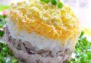 Салат Мужские грёзы — шесть пошаговых рецептов