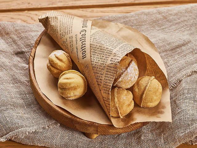 Печенье Орешки со сгущенкой в формочках — рецепты, как в детстве