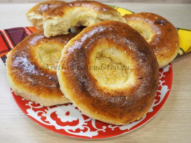 Лепешки по-узбекски