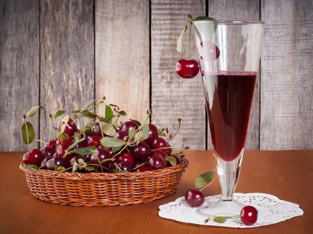 Вино из вишни в домашних условиях