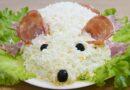 Салат «Белая крыса» — рецепт новогоднего салата для 2020 года