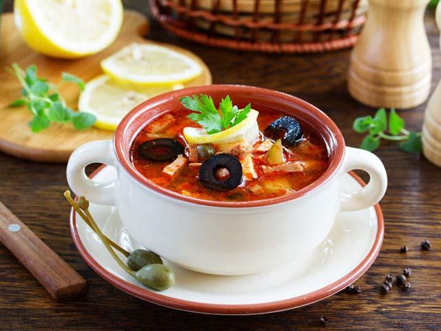 Солянка суп без картошки