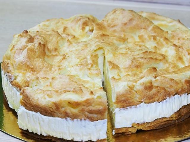 Торт «Карпатка» — рецепт домашнего торта из заварного теста