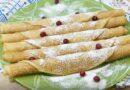 Заварные блины на кефире и кипятке — рецепт тонких с дырочками блинов