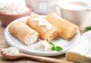 Блинчики с творогом — 7 вкусных пошаговых рецептов