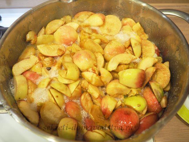 Яблочное повидло на зиму в домашних условиях