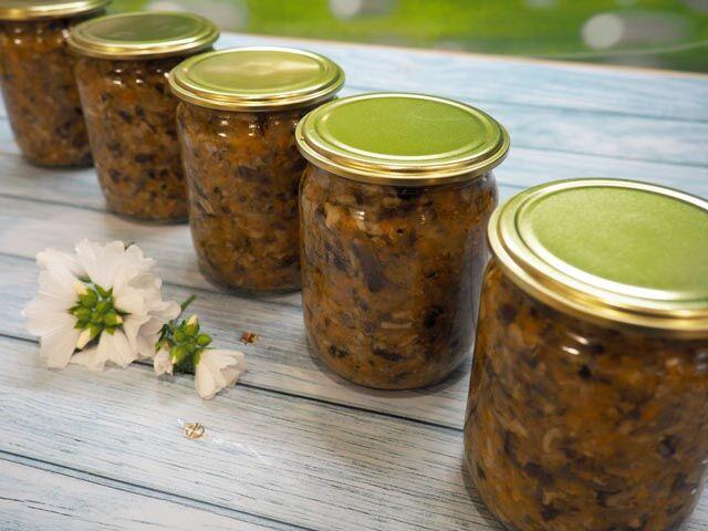 Грибная икра из вареных грибов – самый вкусный рецепт