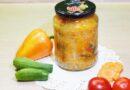 Кубанский салат на зиму — пошаговый рецепт