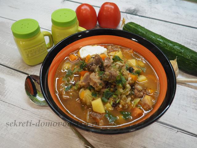 Машхурда по-узбекски — рецепт приготовления узбекского супа