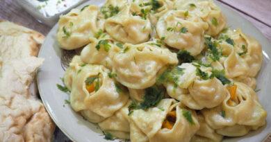 Манты с тыквой по-узбекски — пошаговый рецепт