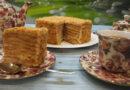 Торт Рыжик — классический пошаговый рецепт